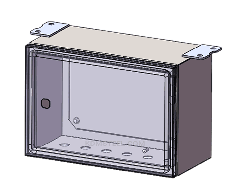 custom metal NEMA marine electrical enclosure
