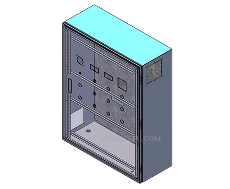 custom metal push button marine electrical enclosure