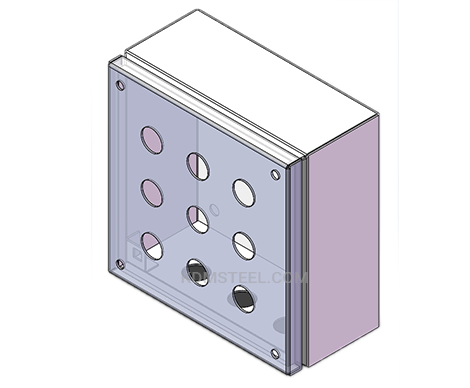 custom stainless steel IP44 electrical box