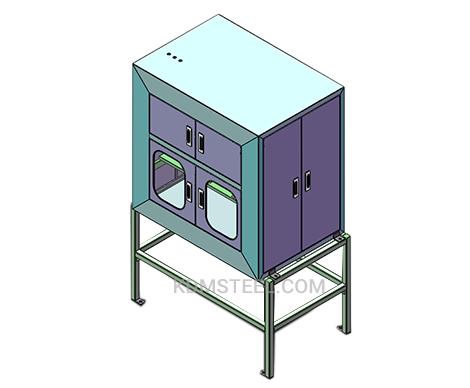 custom stainless steel floor stand cabinet