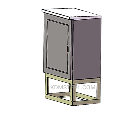 customized outdoor stainless steel cabinet
