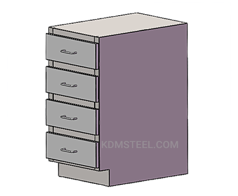 customized stainless steel cabinet
