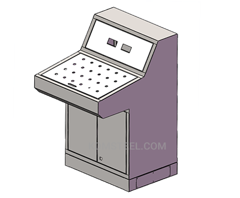 customized stainless steel equipment control system enclosure