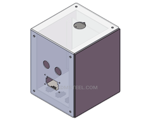 customized stainless steel nema type 4x certified enclosure