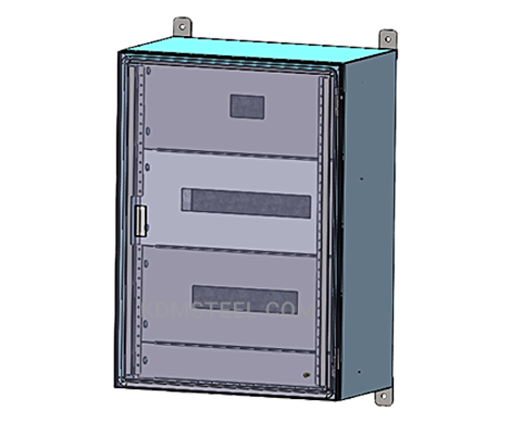 customized stainless steel wall mount enclosure cabinet and box