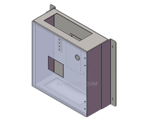 customized wall mount enclosure NEMA 12