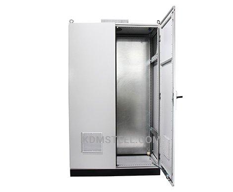 double door free standing Galvanized Steel Enclosure