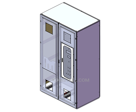 double door free standing IP56 Enclosure