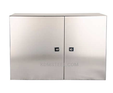 double door stainless steel NEMA 4 enclosure