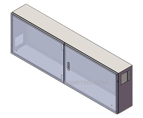 double door stainless steel junction box