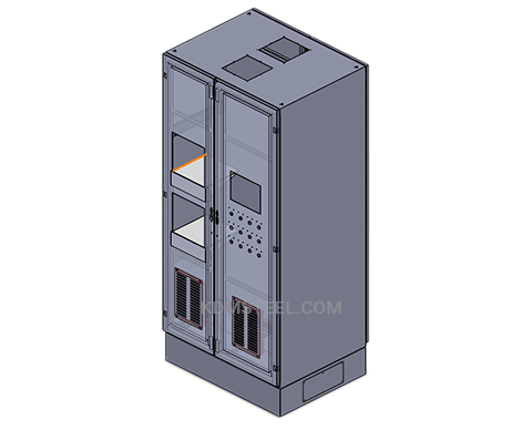 double door telecommunications enclosures