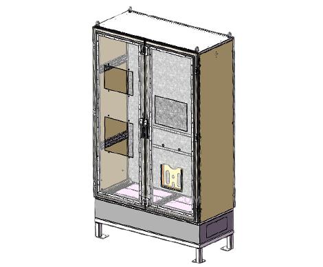 floor mount marine electrical enclosure