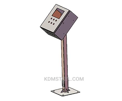 floor mount stainless steel junction box