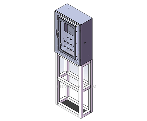 floor stand carbon steel IP54 enclosure