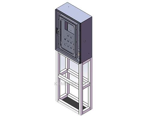 floor standing carbon steel IP56 Enclosure