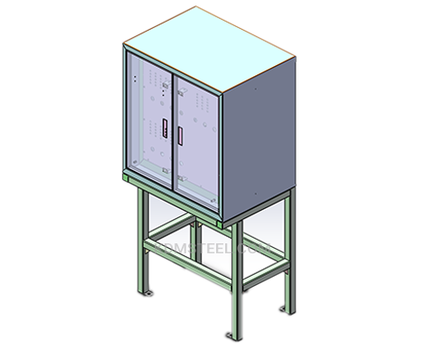 floor standing steel IP66 cabinet
