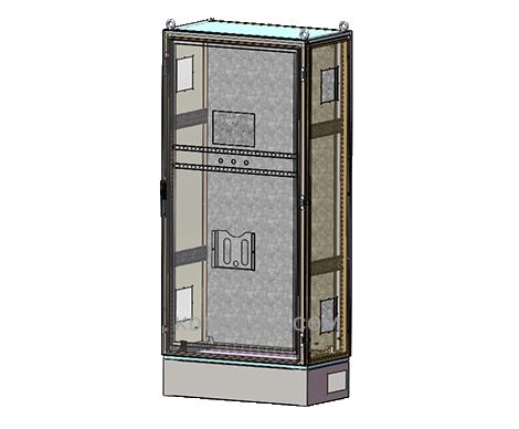 free standing IP Enclosure with hinges