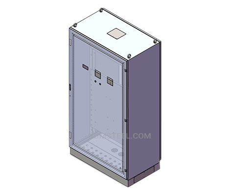 free standing large nema 12 enclosure with viewing window
