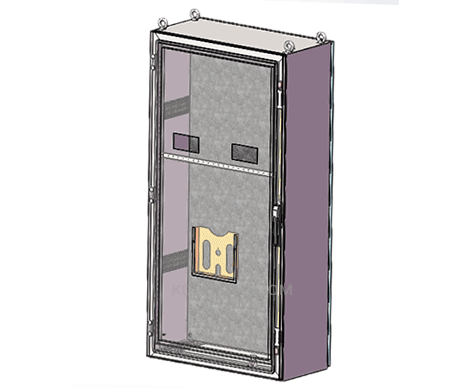 free standing metal IP enclosure