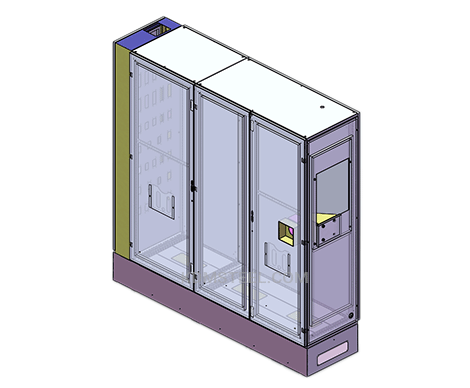 hinged door free standing Disconnect Enclosures