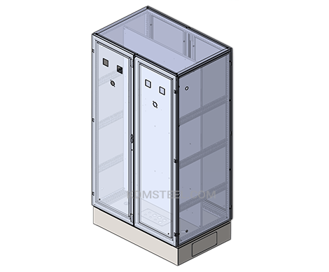 hinged free standing Electrical Enclosure NEMA type 12