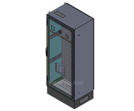 metal free standing electrical enclosure
