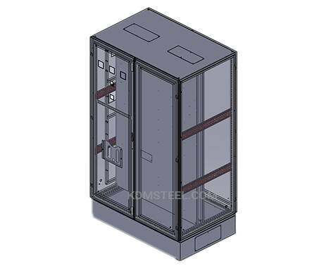 modular free standing nema 12 enclosure