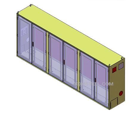 multi door free standing IP57 Enclosure and cabinet