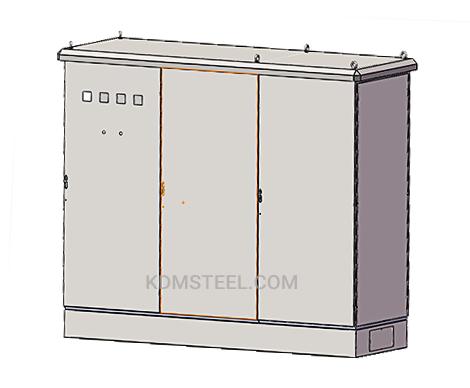 multidoor weather proof Galvanized Steel cabinet