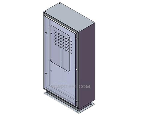 nema 12 welded single door enclosure