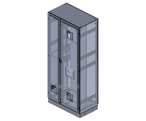 nema 3 free standing enclosure with fan