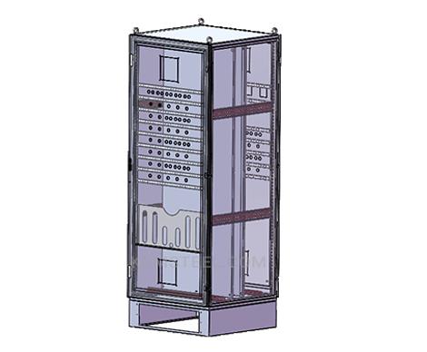 nema type 4 free standing Galvanized Steel Enclosure