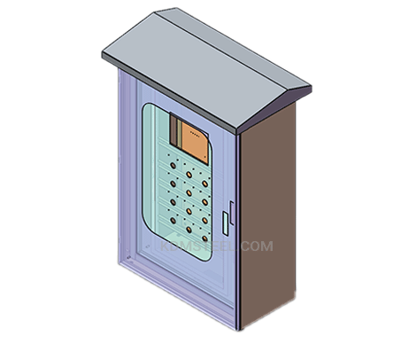 outdoor IP56 Enclosure box with viewing window