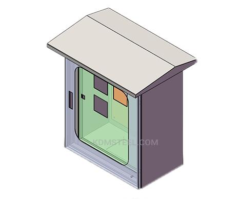 outdoor nema 12 enclosure with viewing window