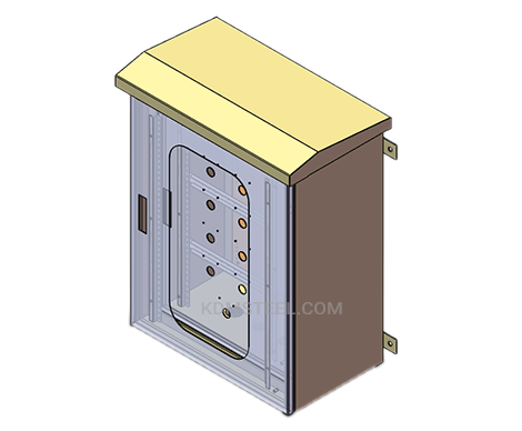 outdoor wall steel junction box