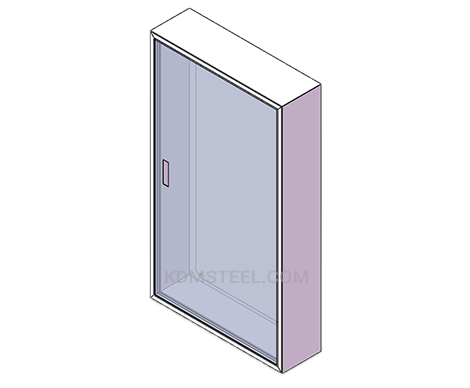 painted mild steel junction box