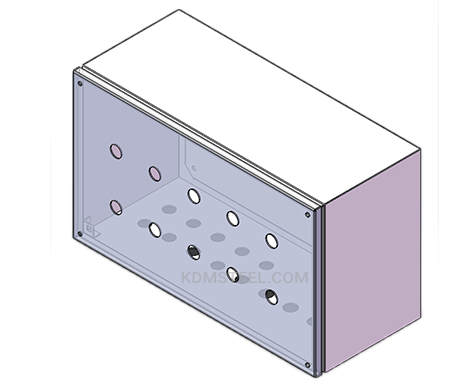powder coated Control Station Enclosures