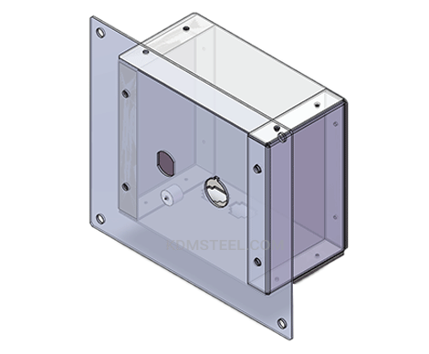resessed custom IP55 enclosure box