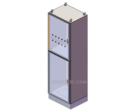 single door customized stainless steel enclosure NEMA 12