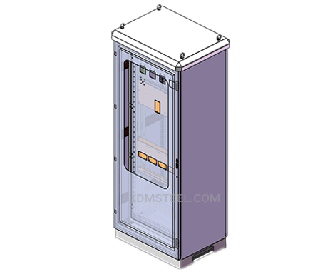 single door electrical panel enclosure