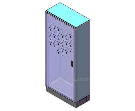 single door free standing nema 13 enclosure