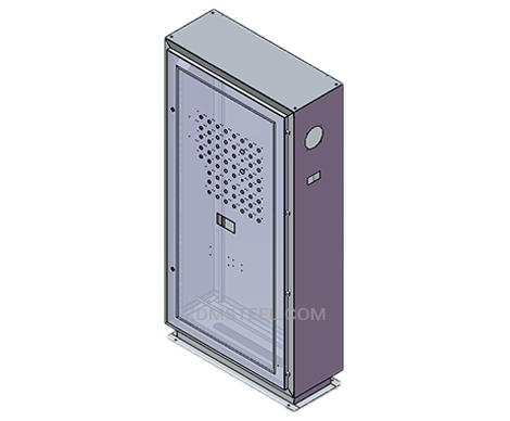 single door free standing steel IP56 Enclosure