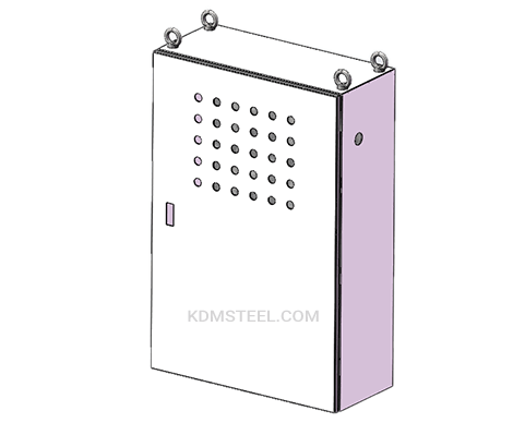 single door metal enclosure