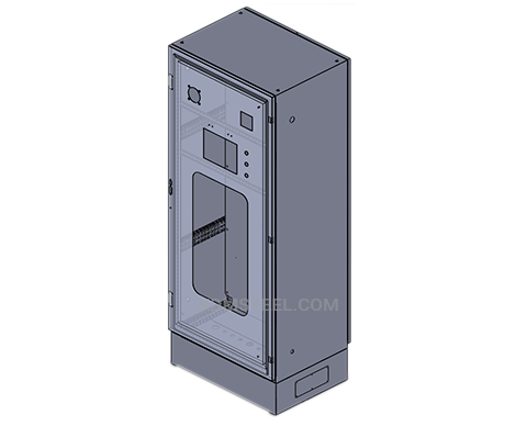 single door telecommunications enclosures