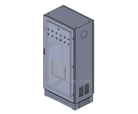 single door vented NEMA 3 Enclosure