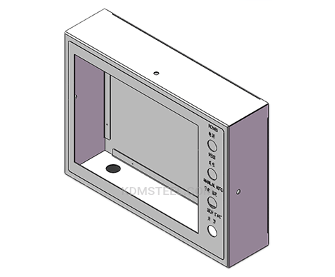 stainless steel 316 IP66 enclosure with clear window