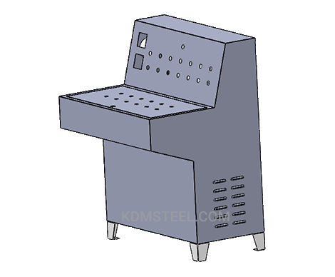 stainless steel 316 desk console enclosure