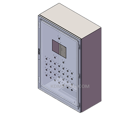 stainless steel IP57 Enclosure with viewing window