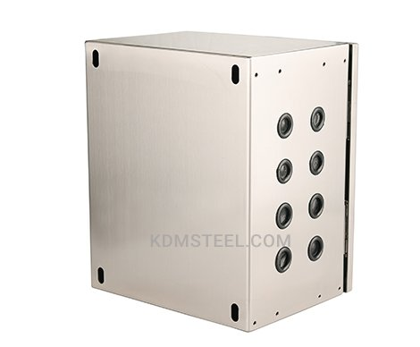 stainless steel NEMA 4X junction box