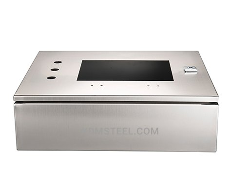 stainless steel Nema 4 electrical enclosure with window